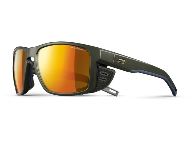 Julbo Shield Spectron 3CF Sunglasses Army/Blue-Orange